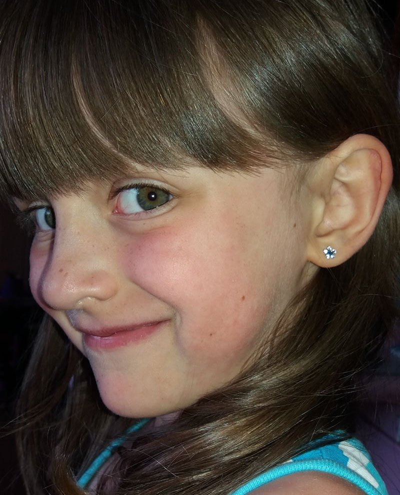 Safe Ear Piercing For Children Studex Of Europe